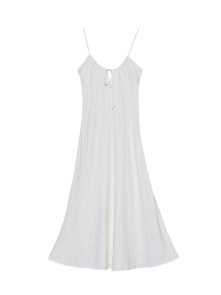 Olivia Tie Top Dress - Cream