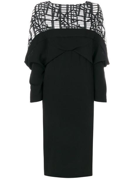 Chalayan dress women draped black