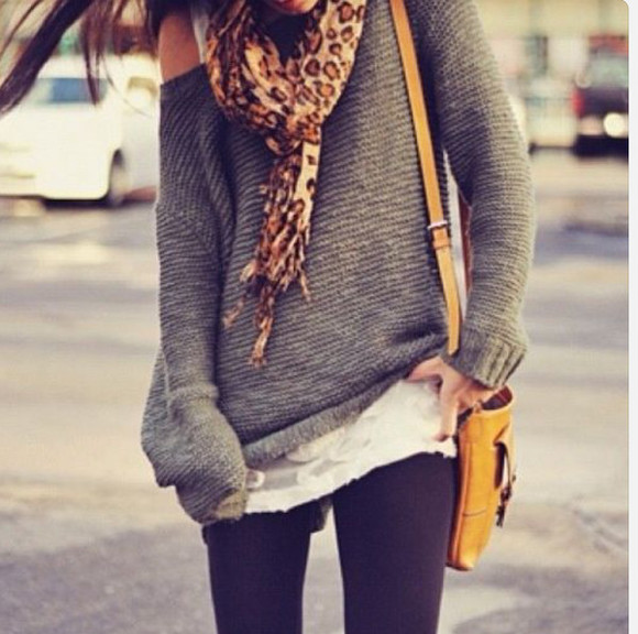 thick grey sweater fall sweater fall outfits