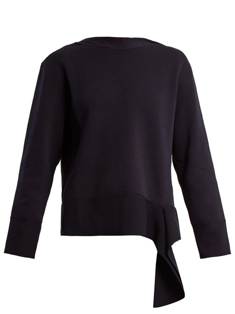 Stella McCartney sweater cotton navy