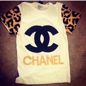 shirt dope chanel chanel t-shirt style jewels jumpsuit t-shirt