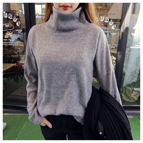 Casual turtleneck sweater from doublelw on storenvy