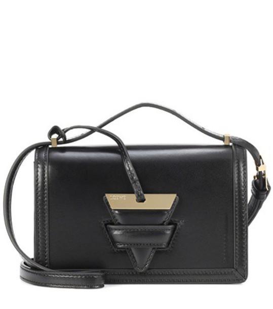 LOEWE bag shoulder bag leather black