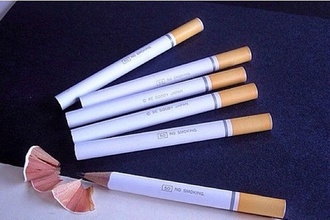 top yellow white pencils style fashion unisex cigarette cool jacket