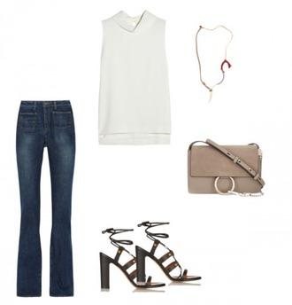 helena bordon blogger jeans top shoes bag jewels