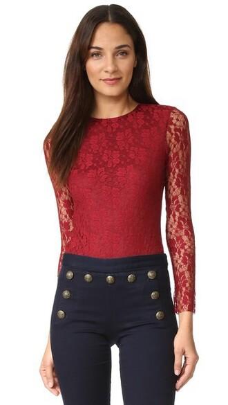 bodysuit lace underwear