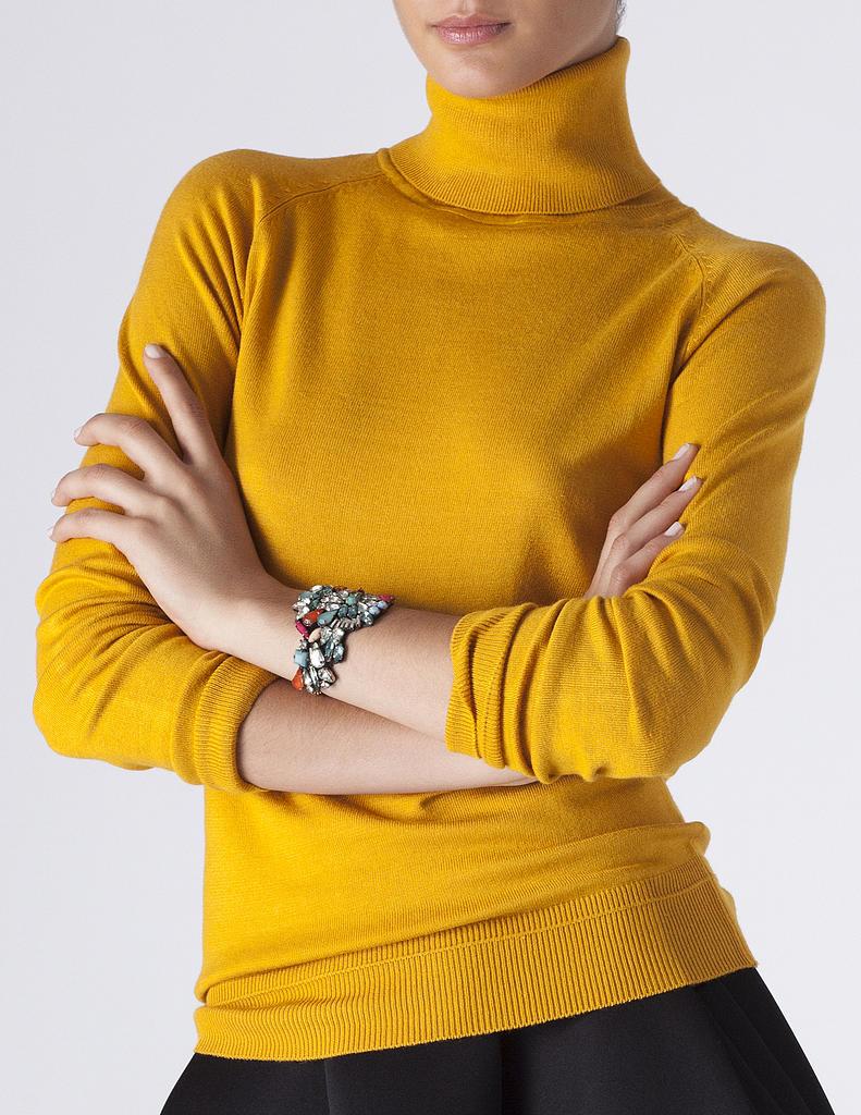 Jersey básico cuello vuelto | SHOP ONLINE BLANCO.COM