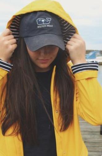 jacket yellow raincoat