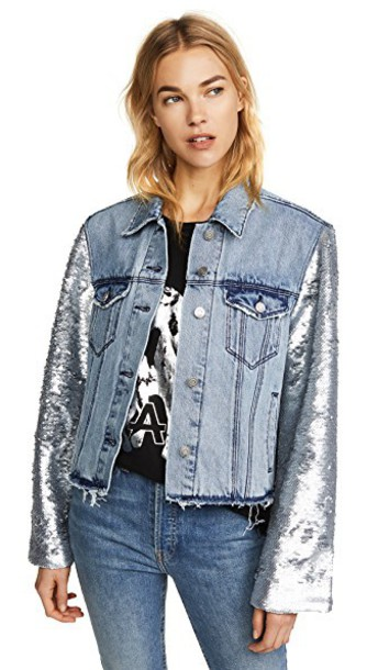 jacket light blue light blue