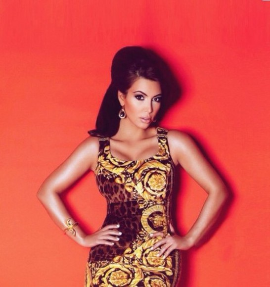 animal print dress cheetah print kim kardashian beautiful keeping up with the kardashians