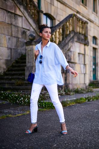 lovely pepa shirt jeans shoes bag jewels sunglasses