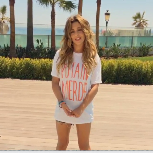 t-shirt cheryl cole french