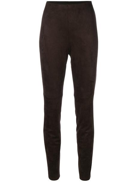 Cambio leggings women fit brown pants