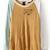 Yellow Contrast Long Sleeve Letters Zipper Sweatshirt - Sheinside.com