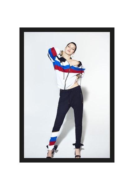 pants alexandre vauthier jacket Paris Fashion Week 2017 fashion week 2017 bella hadid hoodie vogue