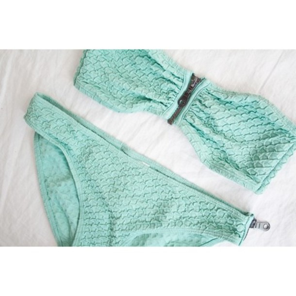 swimwear green swimwear zip swimwear