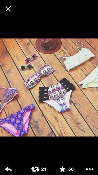 swimwear tribal bikini