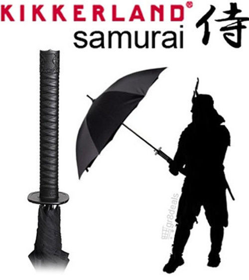 Samurai Umbrella Katana Ninja Sword Handle Sheath w Strap by Kikkerland | eBay
