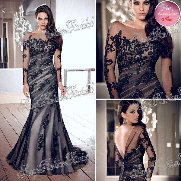 Aliexpress.com : Buy Halle Berry Gown Select Elie Saab Big V Neck Lace And Chiffon See Through Celebrity Evening Dresses from Reliable lace dress women suppliers on sexyfashionbridal