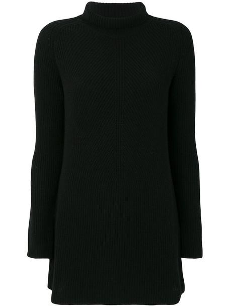Gentry Portofino - long jumper - women - Cashmere - 40, Black, Cashmere