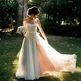 dress wedding pretty lace lace dress