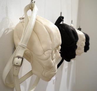 white bag black bag bag black and white skull skull bag white skull bag