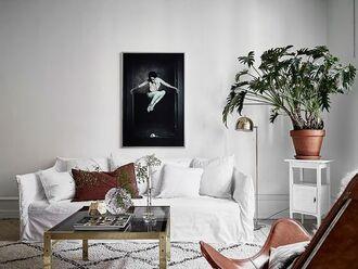 home accessory sofa rug lamp tumblr home decor plants table pillow metallic lamp