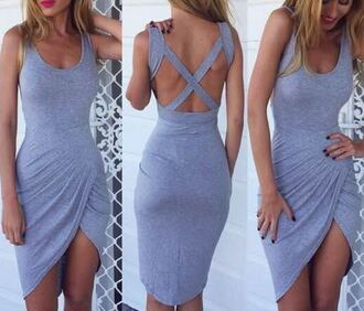 dress cross back