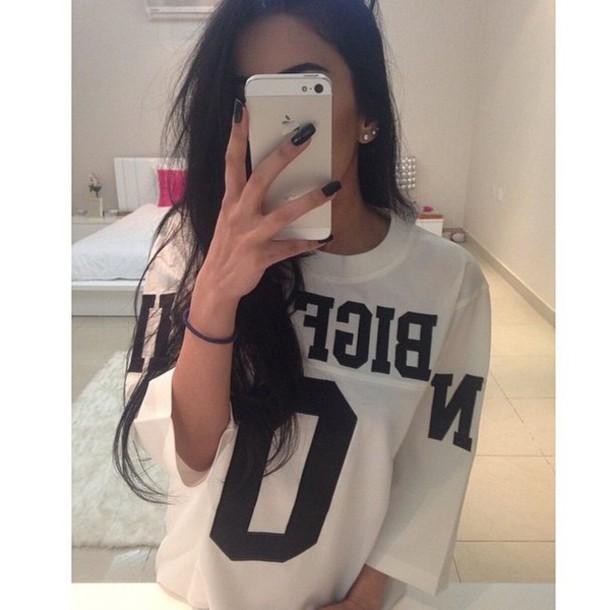 shirt t-shirt white