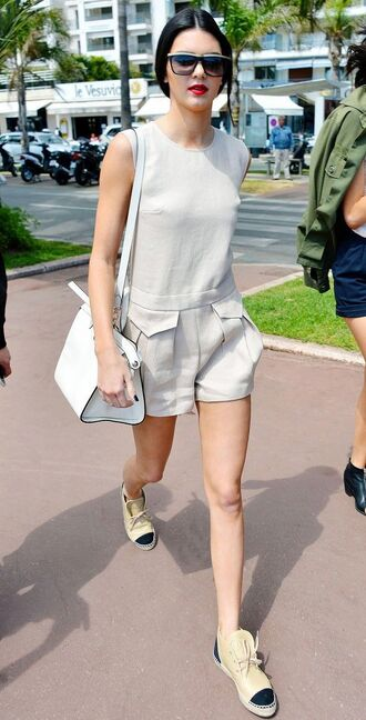 romper beige style kendall jenner t-shirt where can i get this set? dress shorts
