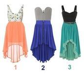 dress,hi low dresses