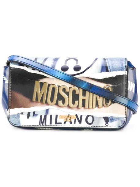 Moschino women bag crossbody bag print
