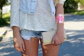 jewels,gold,pink,cuff,jewelry,bracelets