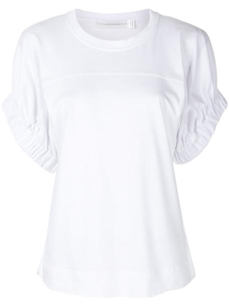 Victoria Victoria Beckham top women white cotton