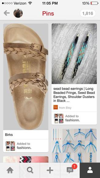 braided shoes sandals birkenstocks