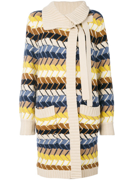 Chloe cardigan knitted cardigan cardigan long women sweater