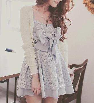 dress blue?sandal?juicy couture bow cute dress
