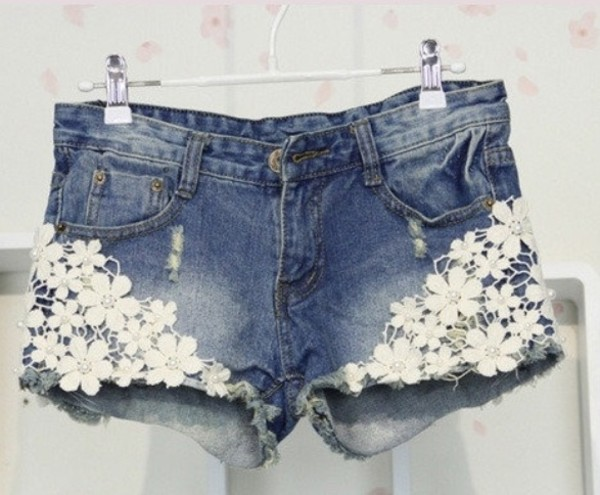 shorts lace mini shorts pretty kawaii