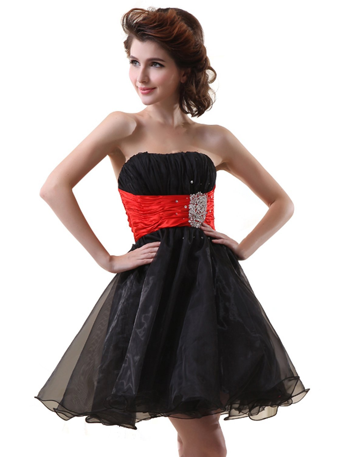 Amazon.com: Clearbridal Women's Short Prom Dresses 2016 Homecoming Dresses Cheap CSD018: Clothing