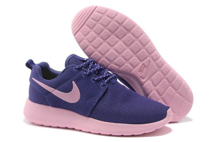 Running Nike Roshe Run Mesh Damen Lila Pink KG1118 Verkauf Online -  - €57.57
