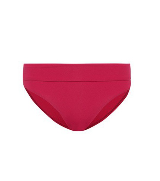 Melissa Odabash bikini bikini bottoms red swimwear