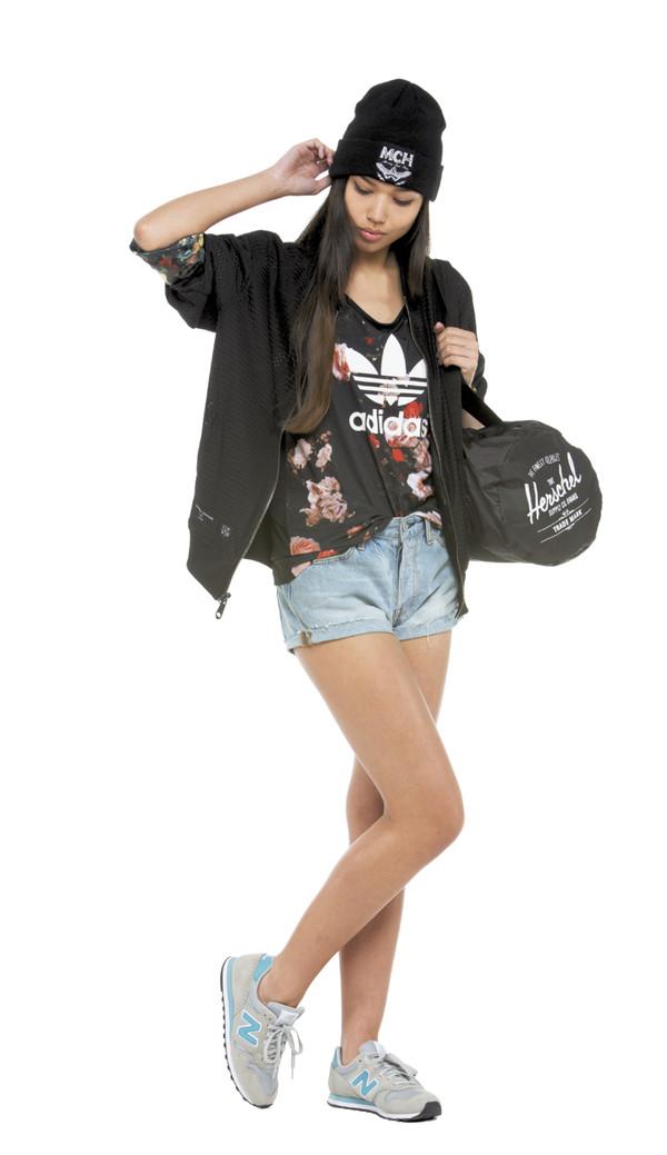 shorts drmtm top beanie snipes criminal damage adidas levi's new balance herschel supply co. t-shirt sneakers bag hat jacket shirt herschel supply co.