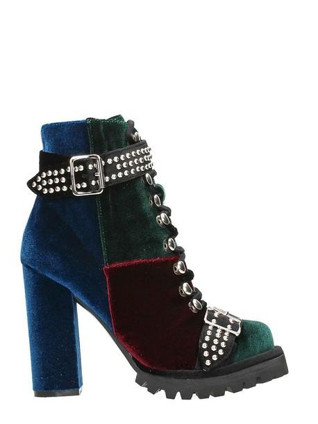 Jeffrey Campbell heel multicolor shoes