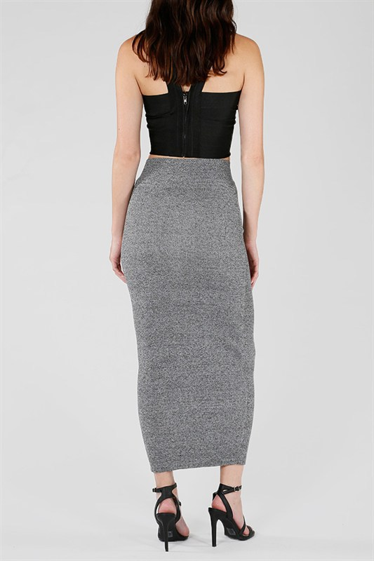 Con Maxi Knitted Skirt