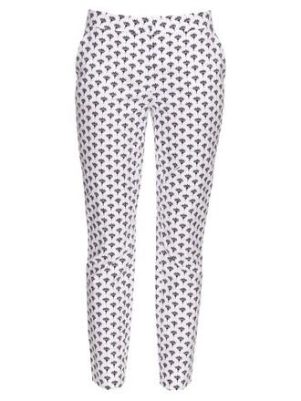 navy white pants