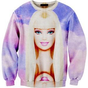 Barbie Dream fashion plus thick velvet shirt printing free shipping-in Hoodies & Sweatshirts from Apparel & Accessories on Aliexpress.com