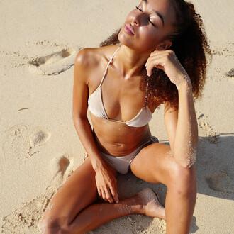 swimwear tumblr swimwear two piece bikini bikini top bikini bottoms sexy bikini velvet velvet swimwear