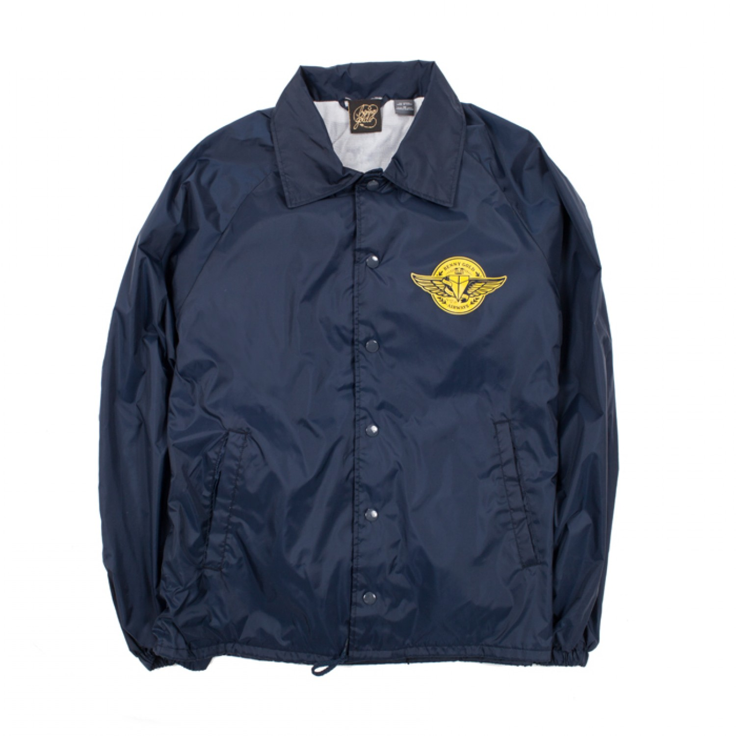 Airways Navy Coach Jacket - Fleece/Jackets - Shop | Benny Gold
