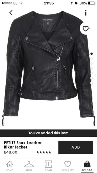 jacket black leather jacket petite