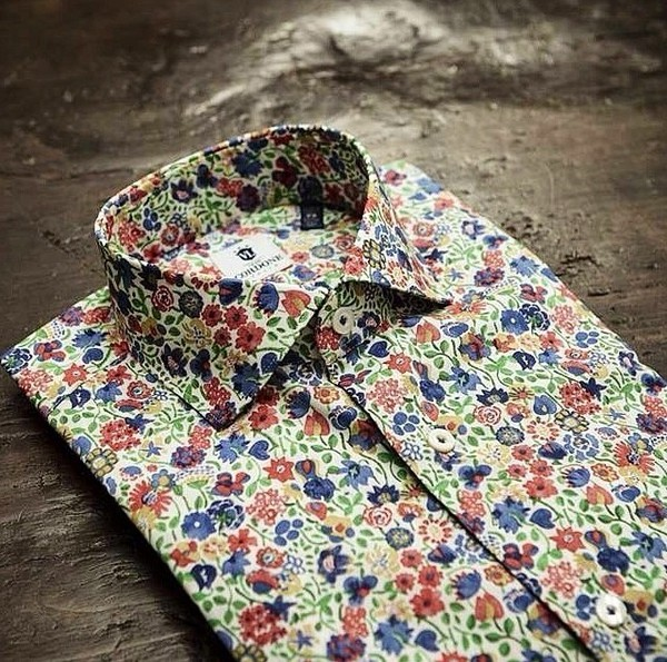dress shirt flowers menswear men's menswear designer red style fashion luxury hipster menswear unisex